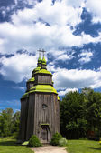 Zarubincy village church, — Stock Photo