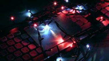 クリスマスの背景. — ストックビデオ