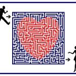 Love Labyrinth — Stock Photo #52479539