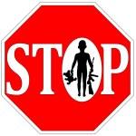Постер, плакат: Stop Kids with Firearms