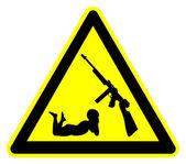 Keep Guns away from Kids — Stock Photo