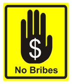 No Bribes Please — Stock Photo