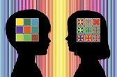 Color Perception of Children — Stock Photo
