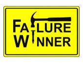 Fail and Win — Stock Photo