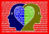 In Love with Computer Technology — Stock Photo