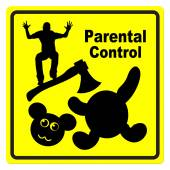 Parental Control over violence in the Media — Stock Photo