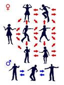 Communication Pattern — Stock Photo