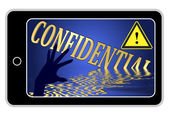 Confidential Informations at Stake — Stock Photo