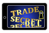 Trade Secrets at Stake — Foto Stock