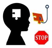 Stop Mind Control — Stock Photo
