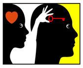 Psychology of Love — Stock Photo