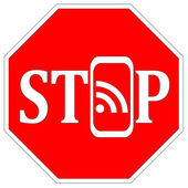 Stop using Smartphones — Stock Photo