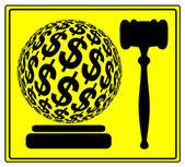 Monetary Penalty — 图库照片