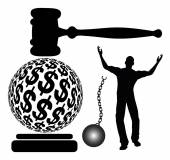 Bail out of Jail — Stock Photo
