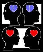 Quarrel and Reconciliation — Stock Photo