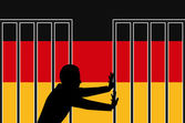 Germany Welcomes Refugees — Stock Photo