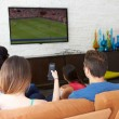 Friends  Watching Soccer — Stock Photo #59344233