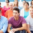 Crowd Of Spectators Watching Outdoor Sports Event — Stock Photo #59346709
