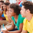 Disappointed Spectators Watching Sports Event — Stock Photo #59347001