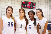 Members Of Female Sports Team — Stock Photo
