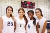 Miembros de mujer deportes equipo — Foto de Stock