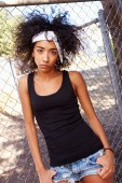 Young Woman In Urban — Stock Photo