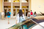 High School Students At School — Stock Photo