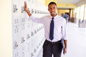 Male High School Teacher — Stock Photo