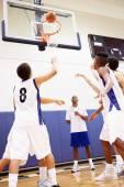 Gioco di pallacanestro maschile — Foto Stock