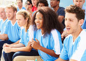 Spectators Watching Sports Event — Stock Photo