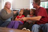 Family  Arguing — Stock Photo