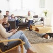 Multi Generation Family  At Home — Stock Photo #59873903