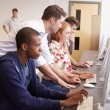 College Students Using Computers — Stock Photo #59875223