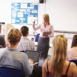 Teacher With College Students — Stock Photo #59877013