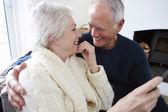 Senior Couple  Relaxing — Stock Photo