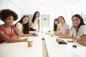 Women Working In Design Studio — Stockfoto