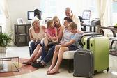 Multi Generation Family  In Hotel — Fotografia Stock