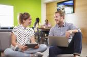 Creatives Having Informal Meeting — Stock Photo