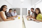 Designers Meeting To Discuss New Ideas — Stock Photo