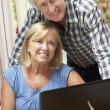 Senior Couple Working — Stock Photo #61027811