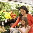 Mother and daughter shopping — Stock Photo #61027865