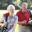Couple on golf course — Stock Photo #61028147