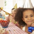 Children at birthday party — Stock Photo #61028575