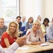Tutor teaching class — Stock Photo #61028713