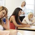 Students in exam — Stock Photo #61029079