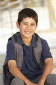 Boy in school — Stock Photo