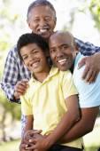 Multi-generation  family — Stock Photo