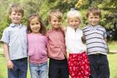 Young children in park — Stock Photo