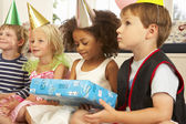 Children at party — Stock Photo