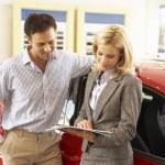 Man buying a car — Stock Photo #61030185